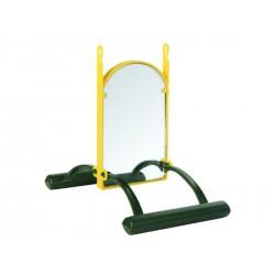 Landeschaukel mit Spiegel