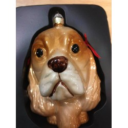 Kugel mit Hundemotiv
